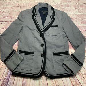 Marc Jacobs Womens Size 8 Gray Blazer Jacket